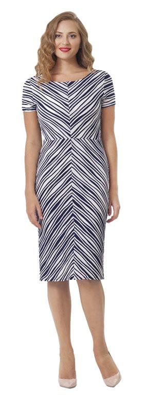 Alison multicoloured panelled dress